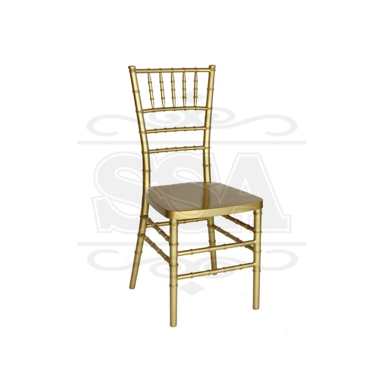 Plastic party black resin chiavari chair