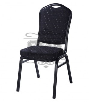 High-quality-metal-padded-stackable-church-chair