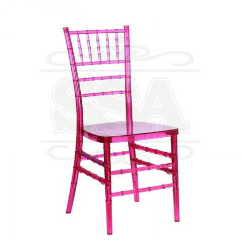 Wedding resin polycarbonate chiavari chair