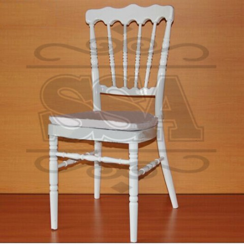 chaise-White-napoleon-chair-aluminum-for-wedding